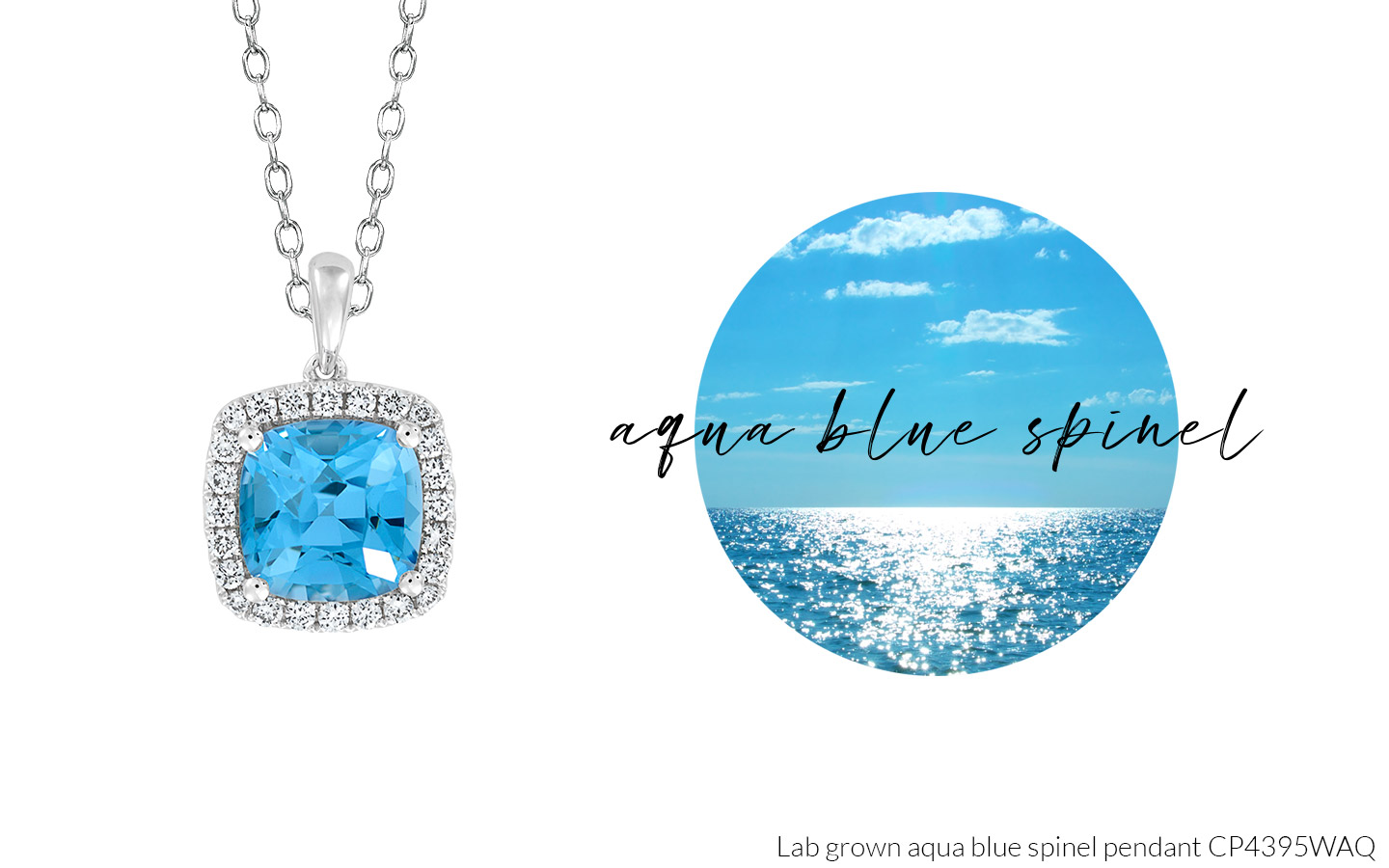 Summer 2020 Aqua Blue Spinel