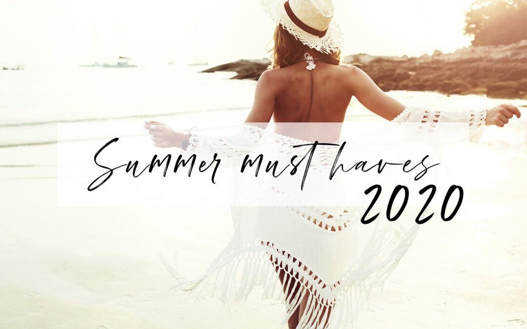 Summer Must Haves 2020 Cover