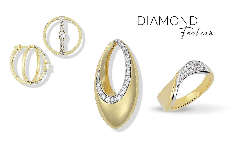 Diamond Fashion Jewelry Examples